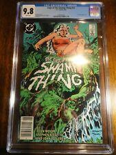 Swamp Thing #25 Rare Newsstand Key CGC 9.8 NM/M 1st John Constantine Saga Moore