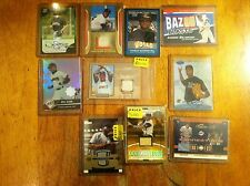 San Francisco Giants + others baseball card lot Will Clark game worn auto L@K!