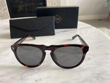 DM Defined Men Brand New Sunglasses Brown Tortoise Modern Round Lens Lightweight