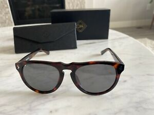 DM Defined Men Brand New Sunglasses Brown Tortoise Modern Round Lens Lightweight