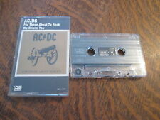 cassette audio AC/DC for those about to rock we salute you
