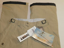 NEW COLUMBIA CONVERT SKI SNOW PANTS INSULATED LT BROWN KID BOY'S S 8