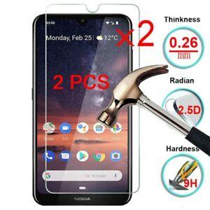 2x Nokia 7.2 6.2 7 6 5 5.1 Plus 6.1 7.1Panzerfolie Schutzglas Full Screen Glas