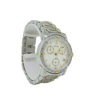 Bulova Diamond 98R98 Women's Round Chronograph Date Off White Analog Watch