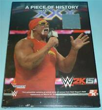 WWE Wrestling *HULK HOGAN / A PIECE OF HISTORY* mit Ringmatte 2K15 wwf wcw tna