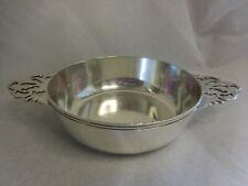 CRICHTON & CO NEW YORK STERLING SILVER TWO HANDLE PORRINGER NO MONOGRAM