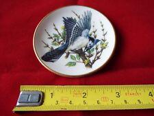 FRANKLIN PORCELAIN SONGBIRDS OF THE WORLD MINI PLATE. #21
