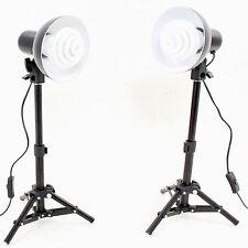 Set de Studio Kit 2x PS01 350W con Soporte de luz, Reflector y Lámpara