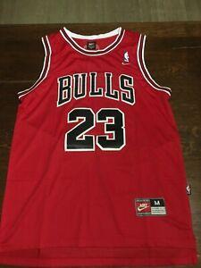 Maillot michael Jordan 23 Bulls nike rouge Taille M