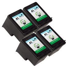 4PK HP 61 Ink Cartridge CH561WN for Deskjet 3050A Deskjet 3054 Inkjet Printer