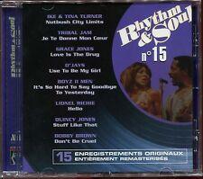 RHYTHM & SOUL - N°15 - MOTOWN - CD COMPILATION NEUF SOUS CELLO