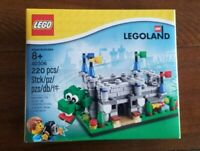 New, Factory Sealed Lego Legoland Exclusive Castle Dragon Set 40306 220 pieces
