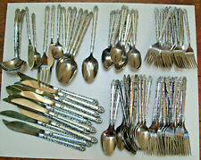 New listing 101 Pc / 8 Lbs Int Stainless Taiwan One Patttern Arts & Crafts Camps & Churches