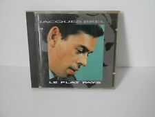 "Jacques Brel 4,  album cd ""le plat pays"""