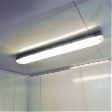 Coolroom Lights 36W Weatherproof LED Light Fittings Twin Tube 1200mm T8 w/Tubes