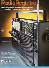(AM) EPOCA975-PUBBLICITA'/ADVERTISING-1975- PHILIPS RADIOREGISTRATORE RR 242
