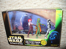 """Star Wars Power of the Force 3 3/4"""" figure 3 pack - Jabba the Hutt's Dancers"""