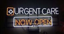 """New Urgent Care Now Open Bar Light Lamp Bar Poster Beer Neon Sign 24""""x16"""""""