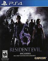 Resident Evil 6 PlayStation 4 PS4