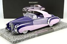 Minichamps 1948 Cadillac Series 62 Saoutchik Cabriolet 1:18 LE  #107148460*New!