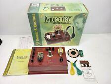 RADIO ACE Vintage Radio Kit  receiver by Thames& Kosmos