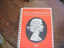 STANLEY GIBBONS ELIZABETHAN POSTAGE STAMP CATALOGUE 1967  HARD BACK