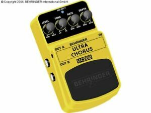 BEHRINGER ULTRA CHORUS UC200 Effects Pedal