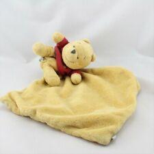 Doudou plat Winnie mouchoir jaune DISNEY BABY - Ours Mouchoir