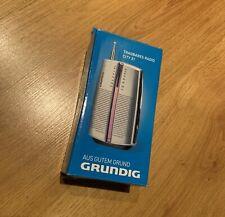 Grundig City 31 Portable Radio FM/MW Tuner Chrome … Brand New