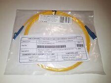 2m LC/UPC LC/UPC 9/125 Duplex Single Mode SM Optical Fiber Cable