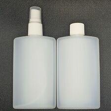 More details for 100ml hdpe natural rectangular bottle postal post bottle large letter cap/spray