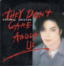 """CD SP 2 T MICKAEL JACKSON  """"THEY DON'T CARE ABOUT US"""""""