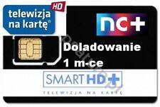 nC+ TNK Telewizja Na Karte NC+ SMART HD + doładowanie Aufladung 1 monate m-cy