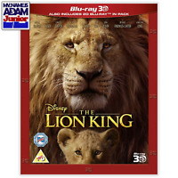THE LION KING (LIVE-ACTION) Blu-ray 3D + 2D (REGION-FREE) IN-STOCK READY TO SHIP