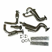 Exhaust Manifold Exhaust Headers Y Pipe Stainless Long Tube For Chevy/GMC Truck
