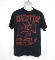 Led Zeppelin Mens Sz L United States of America 1977 Concert T Shirt