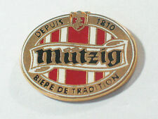 Mutzig Beer Pin Lapel Pin Biere De Tradition Depuis 1810 German Beer Pin ** #44