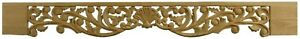 Victorian Style Frieze Pediment, Feature Panel Hand Carved in Ash Wood - AS464