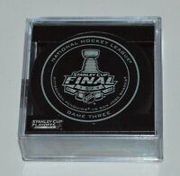 New 2016 NHL Stanley Cup Penguins vs. Sharks Sherwood Official Game Puck 3 Three