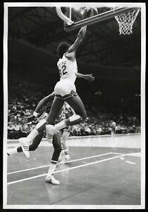 Julius Dr. J Erving 1974 NJ Nets ABA Type 1 Original Photo Ken Regan 11x14