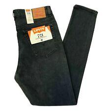Levi's 721 Orange Label Vintage High Rise Skinny Grey Jeans Size W32 L32