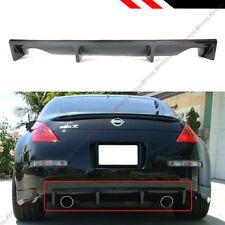 For 2003-07 Nissan 350Z JDM NS Style Carbon Fiber Rear Bumper Diffuser Valance