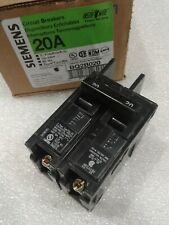 BQ2B020 SIEMENS CIRCUIT BREAKER BOLT-ON 2 POLE 20 AMP 120/240 VAC NEW!