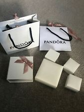 Pandora ring charm bracelet boxes and bags