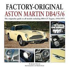 Aston Martin DB-4-5-6 (Zagato Volante Saloon originality paint codes) Buch book