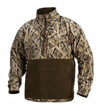 99f5d6f771b Drake Waterfowl Dw4320 MST Camo Eqwader Plus 1 4 Zip Jacket - Mossy Oak  Blades