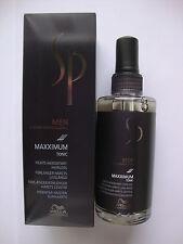 3 x Wella SP Men Maxximum Tonic 100 ml System Professional