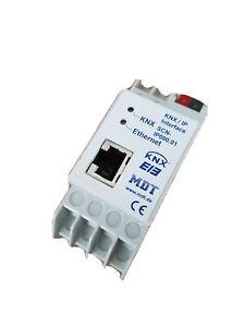 MDT SCN-IP000.01 KNX EIB IP Interface 2TE LAN-Schnittstelle