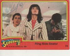 "LEUEEN WILLOUGHBY SIGNED 1980 TOPPS ""SUPERMAN II"" #74 - LEUEEN"