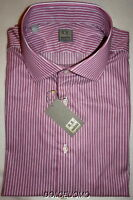 NEW $295 men IKE BEHAR 17 38 GOLD LABEL ITALY DRESS SHIRT PHENOMENAL FABRIC!